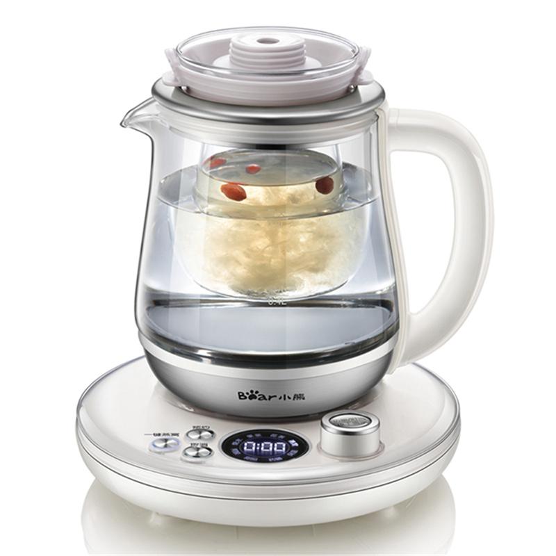 小熊(Bear)养生壶YSH-A08L5 炖煮壶燕窝壶全自动加厚玻璃炖银耳枸杞红枣煮糖水甜
