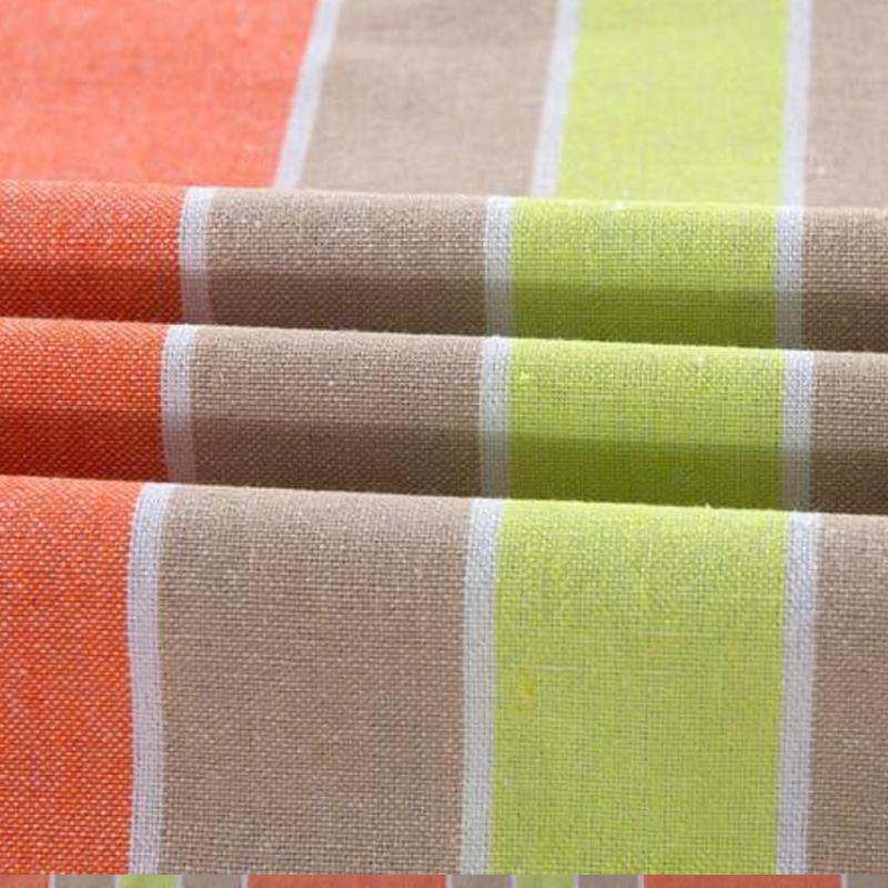 天琴老粗布特织色织三件套 颜色随机