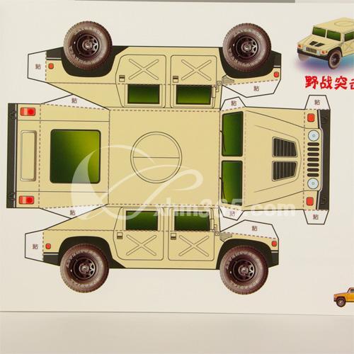 纸模型-越野车