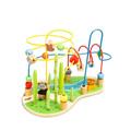 丹妮奇特(Dan Ni Qi Te)熊猫大绕珠算数颜色认知儿童玩具积木多功能1-3岁婴儿木制益智玩具 CDN-2768