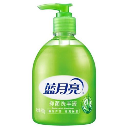 蓝月亮 清洁抑菌 滋润保湿洗手液(芦荟)300g/瓶