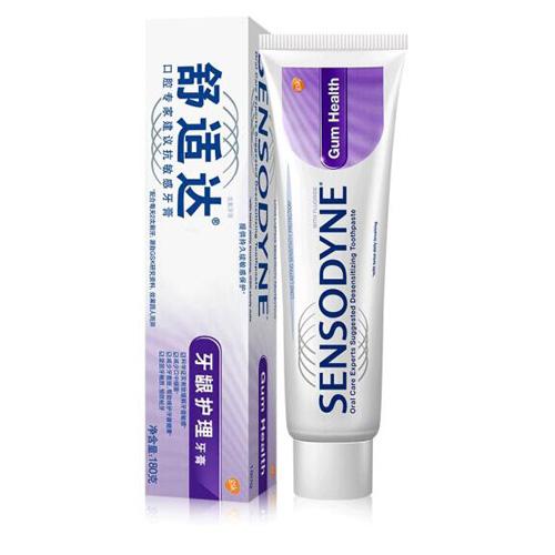 舒适达(sensodyne) 牙龈护理 抗敏感牙膏 180g