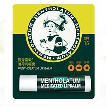 曼秀雷敦(Mentholatum)薄荷潤唇膏3.5g(修護疼痛 潤唇膏女 滋潤保濕)