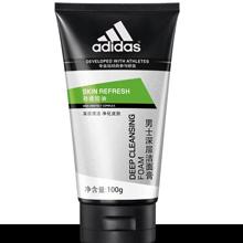 阿迪達斯(Adidas)男士 勁透控油深層潔面膏100g 勁透控油 深層清潔 溫和清潔