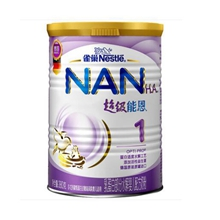 雀巢(nestle)超级能恩 幼儿配方奶粉 1段(0-12个月适用)380克