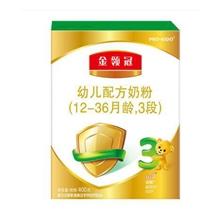 伊利奶粉 金領冠系列 幼兒配方奶粉 3段400克新升級(1-3歲幼兒適用)新老包裝隨機發貨