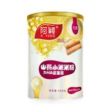 阿颖婴幼儿米粉米糊 经典山药DHA益生菌小米米粉宝宝辅食508g/罐(适合6-36个月)(新老包装随机发货)