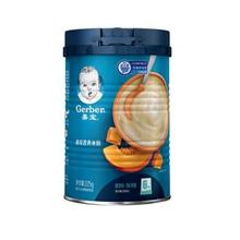 嘉宝(Gerber ) 婴幼儿米粉 宝宝辅食 南瓜营养米粉二段(6个月至36个月适用)225g
