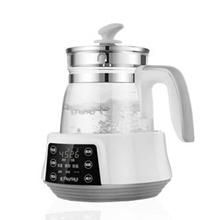 樱舒(Enssu)恒温调奶器 多功能冲泡奶粉机恒温暖奶器热奶器玻璃水壶 800ml ES630