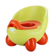 世纪宝贝babyhood QQ儿童坐便器(带凳板) 婴儿便盆尿盆小马桶 男女宝宝座便凳 绿色 BH-105