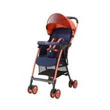 阿普丽佳Aprica 婴儿推车四轮轻便推车 魔捷轻风高景观推车 活力橙 APRC6CF98PLNN