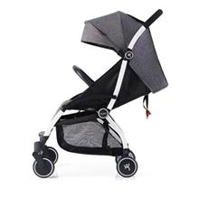 YUYU悠悠婴儿推车第六代轻便折叠伞车可坐可躺婴儿手推车时尚款阳离子灰色