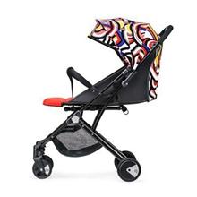宝宝好Y1婴儿推车可坐可躺超轻便携高景观可折叠可变拉杆箱婴儿车花色