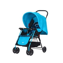 hd小龍哈彼 嬰兒推車可坐可躺輕便可折疊避震寶寶兒童手推車 藍色LC115T-M329