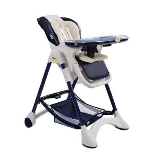 帛琦(Pouch)多功能儿童餐椅 婴儿餐椅 可坐可躺 K05-1藏青色