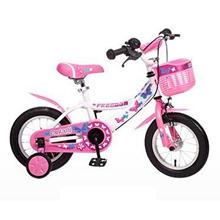 hd小龙哈彼 儿童自行车女童款小孩12/14寸公主山地单车 14寸粉白LG1418Q-L-M108