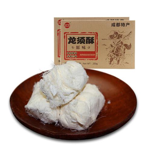辉煌 原味龙须酥 250g 四川特产传统糕点