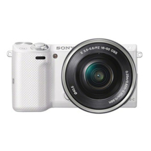 索尼 NEX-5TL 微单单镜套机 白色 (E PZ 16-50mm F3.5-5.6 OSS)