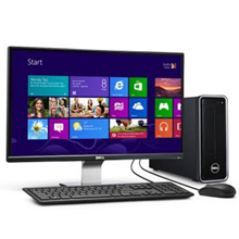 戴尔(DELL) Inspiron 3647-R3038 灵越台式电脑 (赛扬双核 4G 500G WIFI DVDRW 蓝牙 Win8)黑