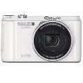 卡西欧(CASIO) ZR1500 数码相机 白色 (1610万像素 3.0英寸液晶屏 12.5倍光学变焦 24mm广角)