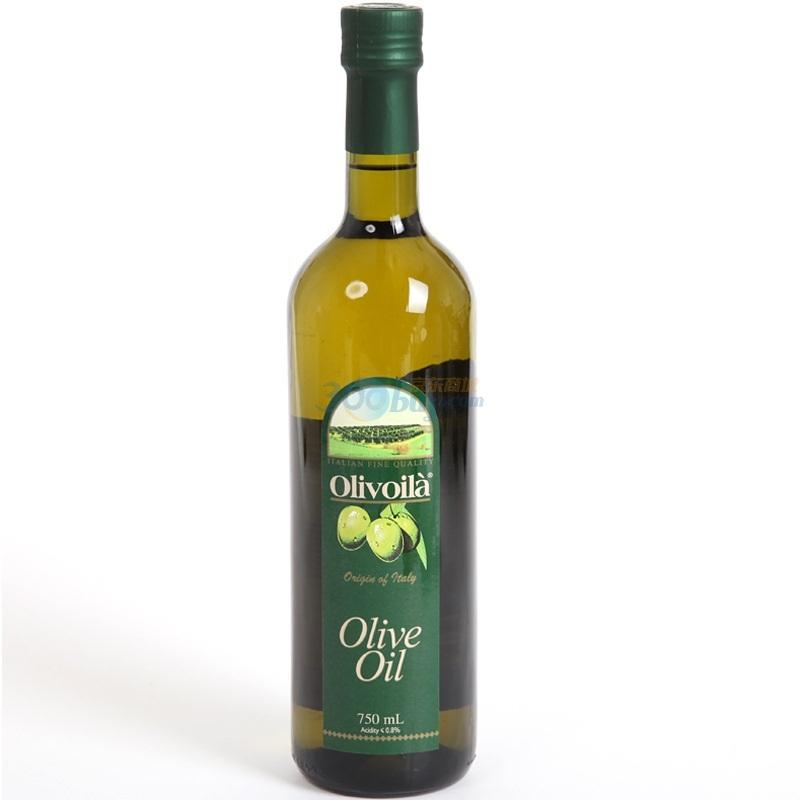 ?#38450;?#34183;兰 Olivoilà 食用油 压榨橄榄油 750ml