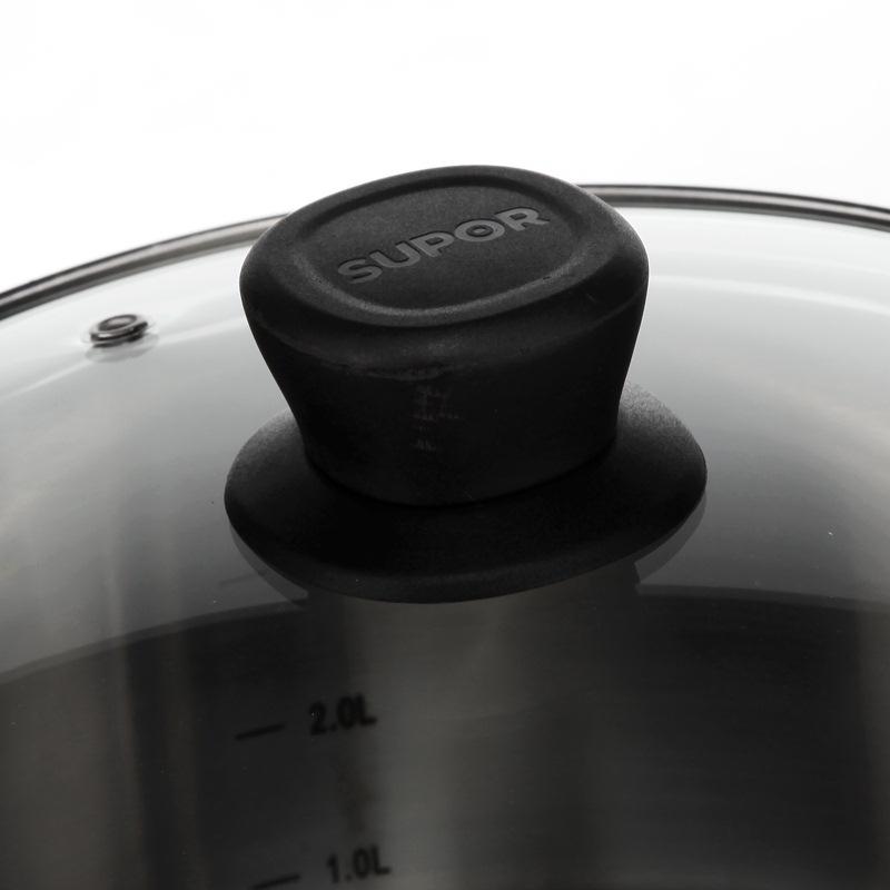 苏泊尔精致不锈钢汤锅304不锈钢复底加厚大汤锅炖锅 锅具 电磁炉汤锅ST22Z1