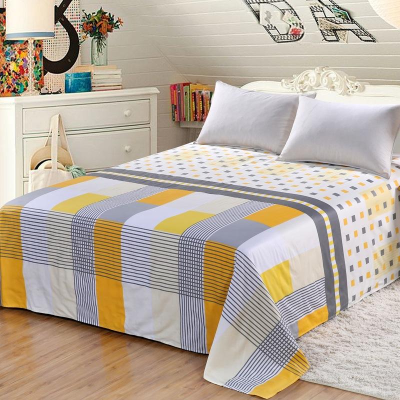 艾薇家纺 双人床单单件纯棉被单1.5床/1.8床230*250(别具一格)