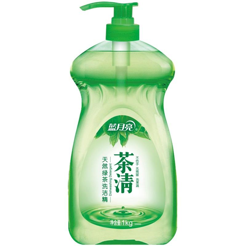 蓝月亮 茶清洗洁精 洗涤灵(绿茶清香)1kg/瓶