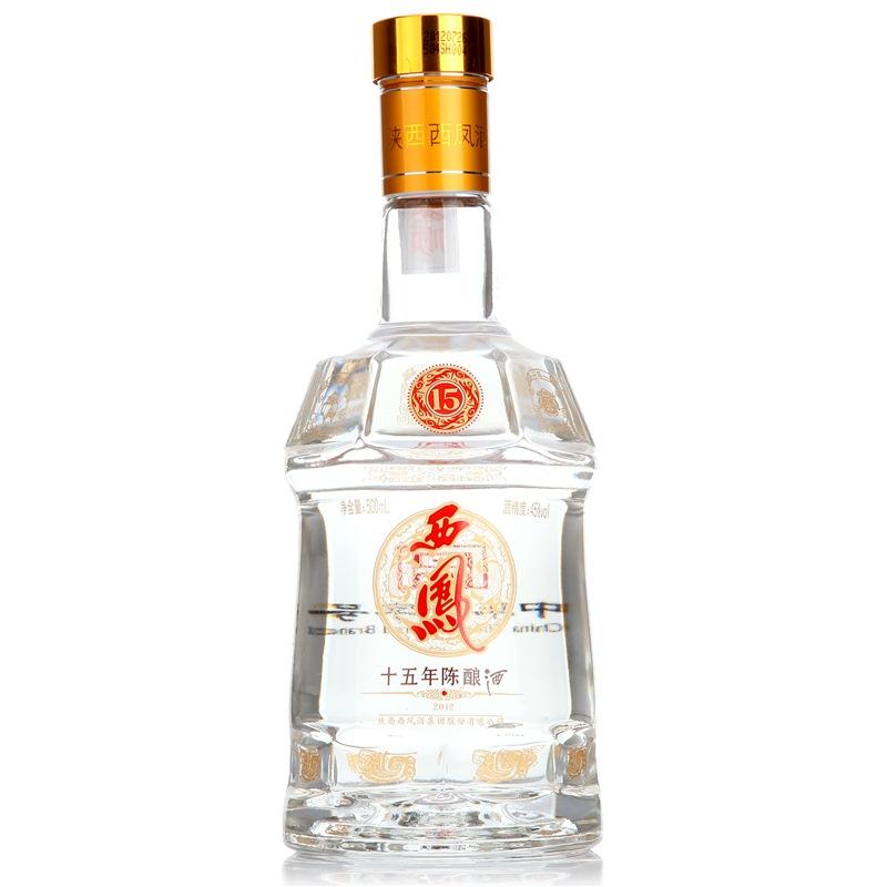 西凤酒 十五年陈酿 45度 盒装白酒 500ml 口感凤香型