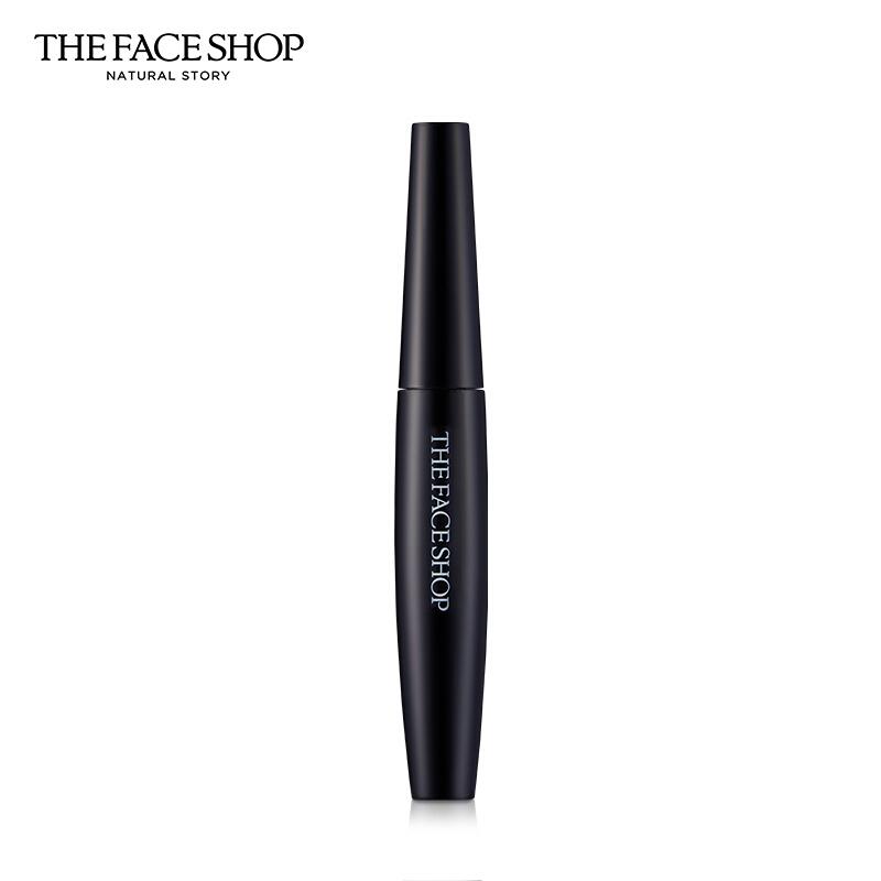 菲诗小铺(The Face Shop)经典黑杆防水睫毛膏 02 7g(纤长卷翘 持久浓密 防晕染 不结块)