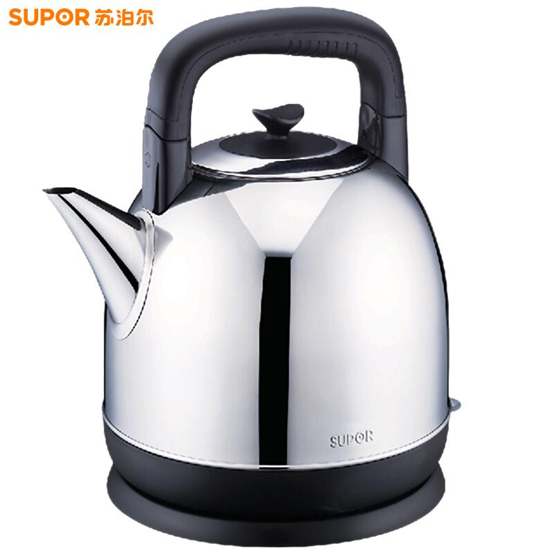 蘇泊爾(SUPOR)電水壺熱水壺電熱水壺  304不銹鋼燒水壺  4L大容量 SWF40C01A