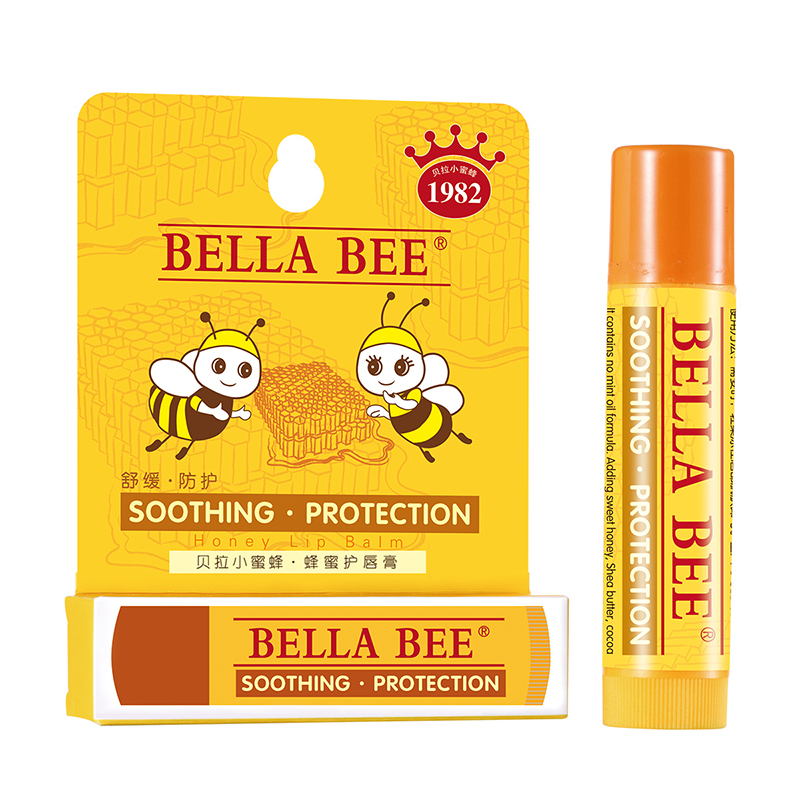 貝拉小蜜蜂 蜂蜜護唇膏 ( 寶寶 兒童 孕婦通用型)4.6g