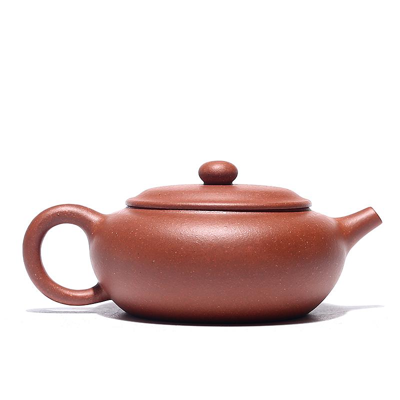 百年利永 紫砂壶宜兴全手工名家原矿降坡泥容歆茶壶150ml