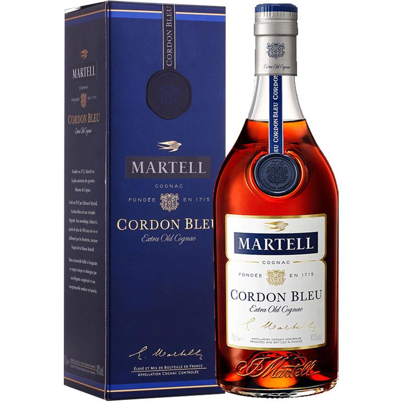 马爹利(Martell)洋酒 蓝带 干邑 白兰地 700ml