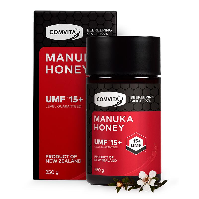康維他(COMVITA)麥盧卡花蜂蜜(UMF15+)250g(新西蘭原裝進口)
