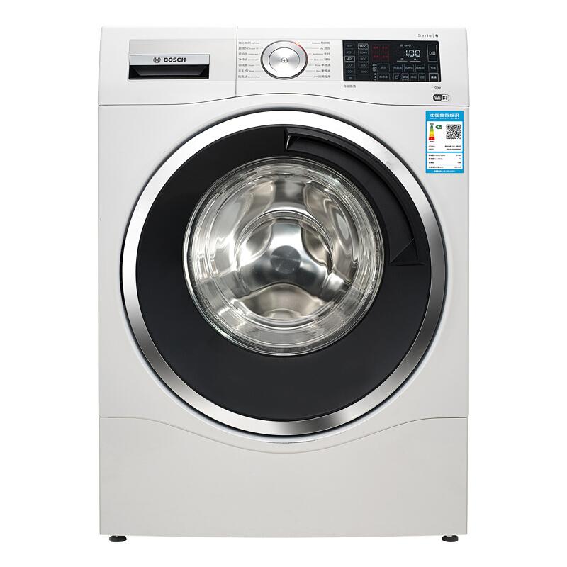 博世(BOSCH) 10公斤智能變頻 滾筒洗衣機 靜音 除菌 特漬洗 家居互聯(白色)XQG100-WAU28560HW