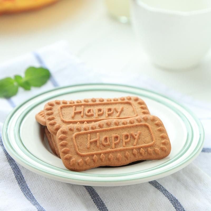 三只松鼠饼干糕点零食薄脆饼干焦糖曲奇饼干焦糖脆180g/袋