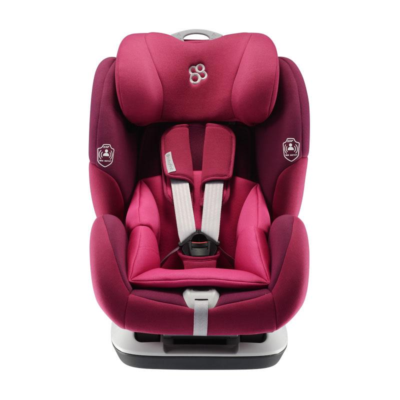 宝贝第一(Babyfirst)安全座椅 儿童安全座椅 约9个月-12岁 铠甲舰?#24188;?#20139;版PLUS 石榴紫