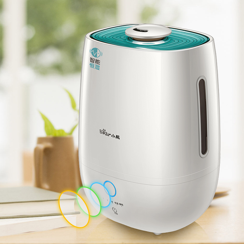 小熊(Bear)加濕器 5L 智能恒濕 家用靜音大容量 凈化增濕 辦公室臥室加濕JSQ-A50M2