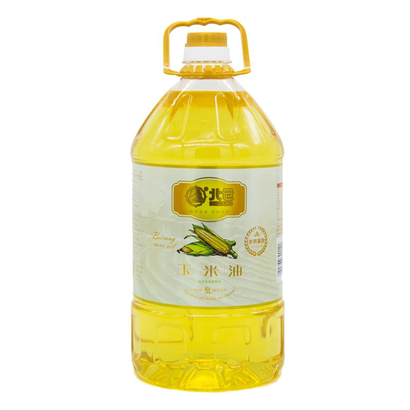 北倉 食用油 非轉基因 一級壓榨玉米油 玉米胚芽油5L