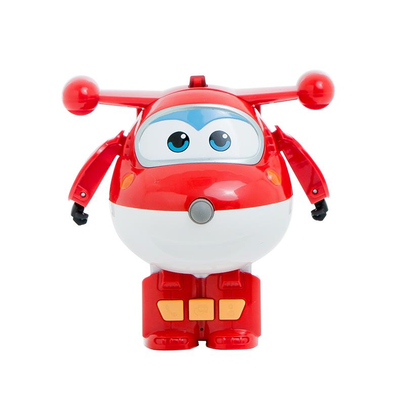 奥多拉(oduora) 超级飞侠乐迪智能电话机器人 实时定位通话 微信留言防打扰儿童变形玩具礼物