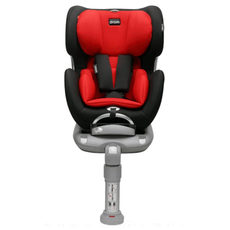 Drom 儿童汽车安全座椅 宝宝安全座椅 海豚座 0-4岁正反向安装ISOFIX 3C认证 波尔多红