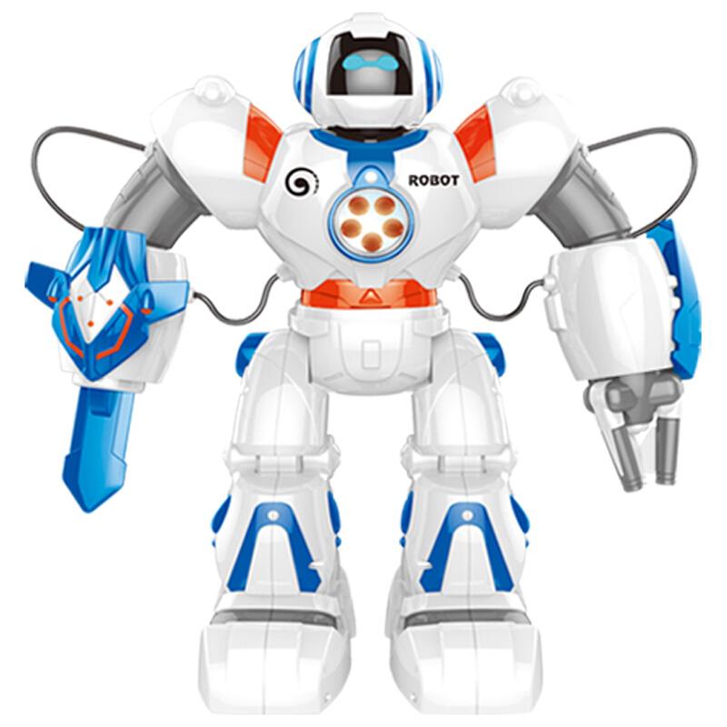 美致模型(MZ) 太空战警遥控机器人 玩具智能早教儿童益智男孩女孩玩具 2839