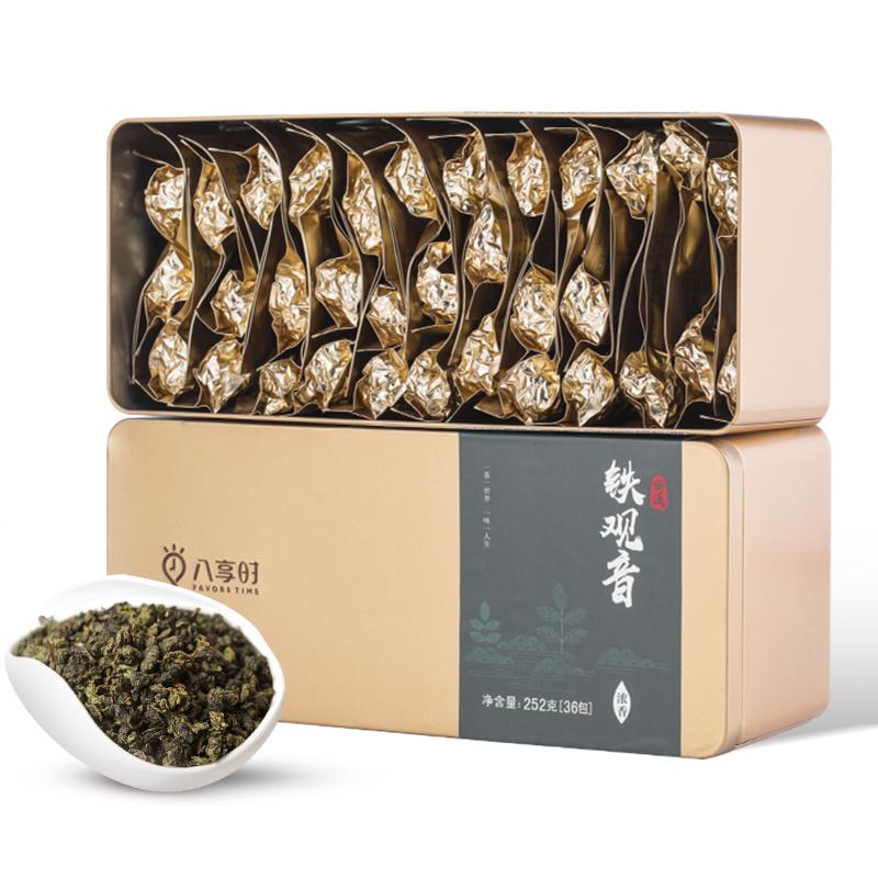 八享时 安溪铁观音 252克(浓香型)简致礼盒装 乌龙茶/茶叶