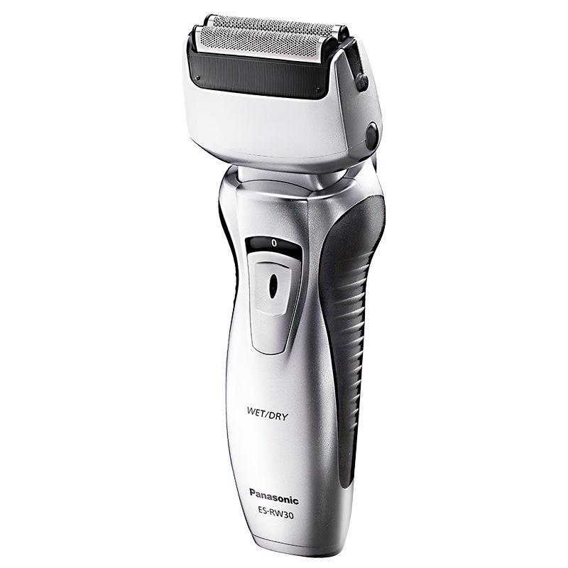 松下电动剃须刀 刮胡刀 干湿两剃 全身水洗双刀头 ES-RW30-S