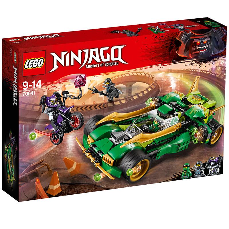 樂高 玩具 幻影忍者 Ninjago 9歲-14歲 勞埃德的高速連發夜行戰車 70641 積木LEGO