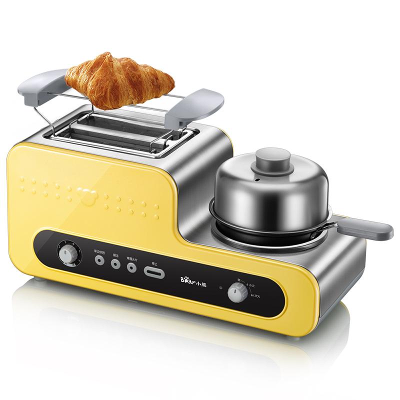 小熊(Bear)烤面包机全自动家用多士炉不锈钢吐司机早餐机DSL-A02V1
