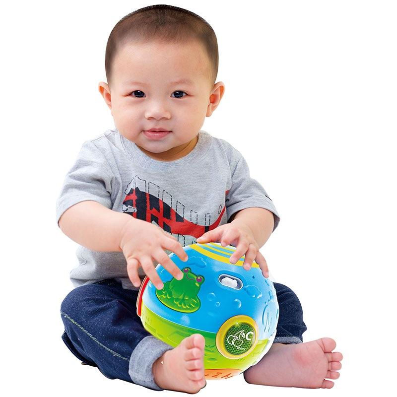 澳贝(AUBY) 益智玩具 农场滚滚球 运动爬行婴幼儿童早教启智 463310DS
