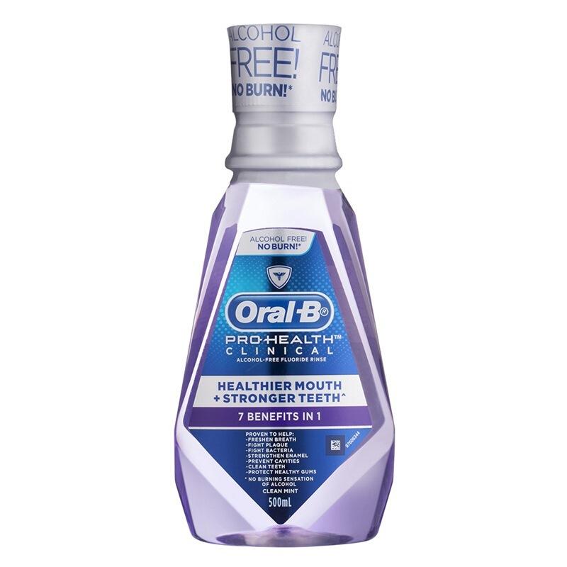 欧乐B(OralB)牙龈专护 漱口水500毫升*3(美国进口)
