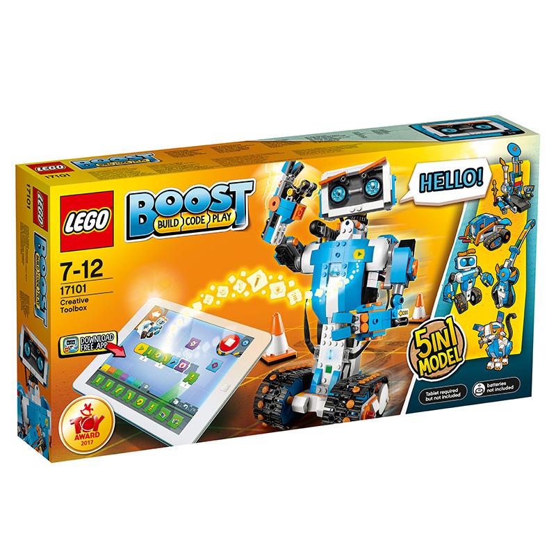 乐高 玩具 科技组 7岁-12岁 BOOST 5合1智能机器人 17101 积木LEGO